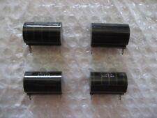 4 x 3 Meg Ohm NOS 1.5 Watt Cinema Noninductive Wirewound Resistors!