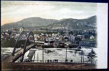 Bellows Falls VT & Walpole N.H.~1905 NEW ARCH BRIDGE OPENING DAY ~ Longest in US