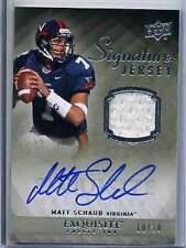 2010 Exquisite Matt Schaub Autograph Jersey 10/10