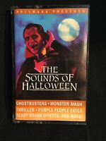 Hallmark Presents The Sounds Of Halloween 1986 Cassette Tape