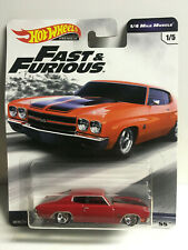 2019 Hot Wheels Fast & Furious Premium 1970 Chevrolet Chevelle SS Real Riders