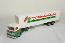 TEKNO SCANIA 141 HOLWERDA BV DRACHTEN TRUCK WITH TRAILER NEAR MINT RARE