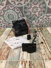New listing Sony - Cyber-Shot Digital Still Camera Dsc-Rx100M5A Used