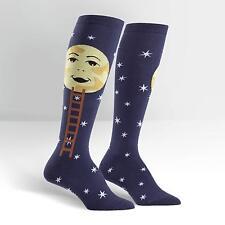 Sock It To Me Women's Knee High Socks - Man on the Moon