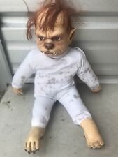 Evil Werewolf Baby Horror Scary Haunted House Theme Party Halloween Party Prop