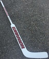 "Warrior Swagger ST Pro Stock Foam Core Goalie Stick 28"" Paddle Lee 9405"