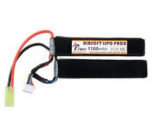 IPOWER Batterie LiPo 1100mAh 11,1V 20C Tamiya Modellbau Airsoft Akku Batterie