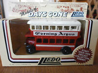 Lledo Days Gone AEC Regal Double Deck Bus with Evening Argus - Brighton Decals