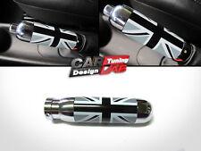 UK Grey Black Interior Handle Hand Brake Emergency Cover For 02-13 Mini Cooper