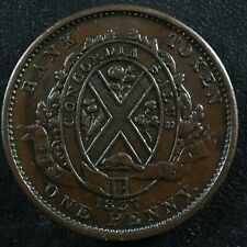 LC-9A3 One Penny token Deux sous 1837 Bas Lower Canada City Bank Breton 521