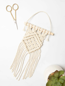 My Life Handmade Mini Macrame Wall Hanger Craft Kit - 663808