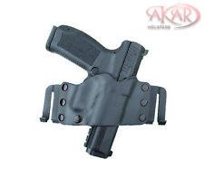 Akar Scorpion OWB Kydex Gun Holster W/Quick Belt Clips Fits CANIK TP9 SF Elite
