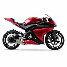 Yamaha YZF-R125 2014-2018 ABS Plastic Full Fairing Kit (21 panel) - Red/Black