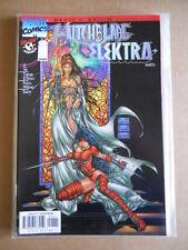WITCHBLADE / ELEKTRA #1 1997 Marvel Comics  [SA38]