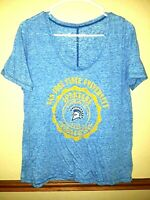 Campus Couture San Jose State University Scoop Neck Womens Large Blue T Shirt