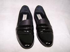 Mezlan Mirage Black Patent Leather Formal Tuxedo Slip On Men's Shoes Sz 12B
