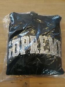 Supreme Water Arc Hooded Sweatshirt Black M
