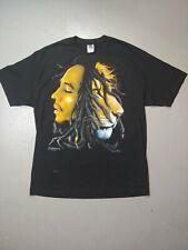 Zion Rootswear Bob Marley Half Man Half Lion Reggae T-shirt Size XL 2004