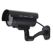 Camara de CCTV falsificado fingido imitacion leva LED rojo Impermeable Inte Y3M4