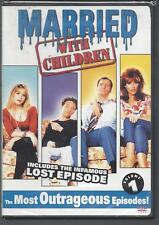 MARRIED WITH CHILDREN MOST OUTRAGEOUS EPISODES VOLUME 1 NEW/SEALED
