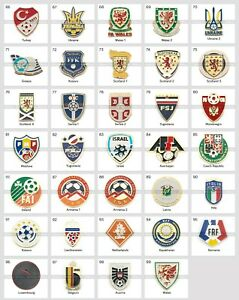 Metal Pin UEFA Union of European Football Associations Federations 3