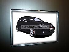 VW GOLF GTI EDITION 30 FRIDGE MAGNET (LARGE). CHOOSE YOUR CAR COLOUR.