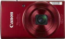 Canon - PowerShot ELPH 190 20.0-Megapixel Digital Camera - Red