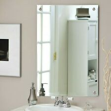 Stupendous Chrome Rectangle Modern Bathroom Mirrors For Sale Ebay Download Free Architecture Designs Embacsunscenecom