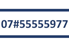 55555 22 O2 SIM CARD GOLD EASY PLATINUM VIP MOBILE PHONE NUMBER 07#55555977