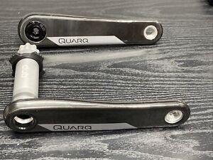 Quarq DUB Crank Arm Assembly 165mm, 8 Bolts Direct Mount, Natural Carbon, D2