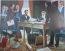 """""""Emancipation Proclamation"""""""" by Mort Kunstler Civil War"""