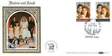 22 JULY 1986 ROYAL WEDDING BENHAM BLCS 15 FIRST DAY COVER WESTMINSTER ABBEY SHSc