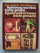 Spielzeug aus Holz leicht gebaut Kindermöbel bauen leicht gemacht 1974