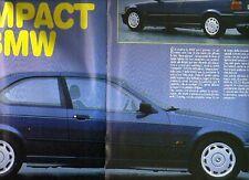 Z7 Ritaglio Clipping 1994 BMW Serie 3 325