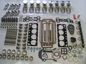 Deluxe Moteur Reconstruction Kit 57 Ford 272 V8 Neuf 1957 Pistons Valves Paliers