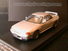 NISSAN SKYLINE GT-R R32 JET SILVER METALLIC HPIRACING 8159 1/43 EDITION LIMITEE