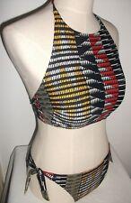 Ladies aztec bikini halterneck size 14 Marks and Spencer Xtra life NEW