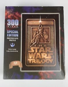The Star Wars Trilogy Special Edition Puzzle 300 pieces Poster Size - BRAND NEW
