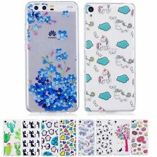 Pattern Soft Silicone Transparent Phone Case Cover Skin For Sony Xiaomi Moto LG