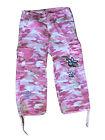 Pink Camo Capris Size 10