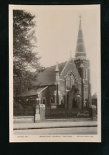 London CATFORD Wesleyan Church c1910/30s? RP PPC local pub W G Carter