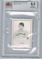 1950 Callahan Hof CY YOUNG Graded Beckett BVG 8.5 NM - MT+ Near Mint PLUS