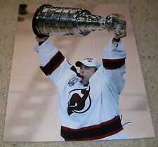 MARTIN BRODEUR NEW JERSEY DEVILS SIGNED CUP 16x20 PHOTO w/EXACT PROOF AUTOGRAPH