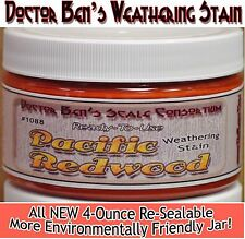 Pacific Redwood Weathering Stain-4oz Doctor Ben's Scale Consortium Craftsman