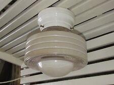 Art Deco Kitchen or Bath Ceiling Light, Atomic Age Look, for Restoration