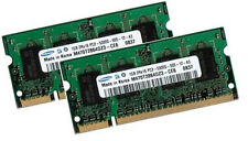 2x 1gb 2gb RAM de memoria IBM/Lenovo ThinkPad x41 z60m-original Samsung 667mhz