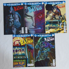 ALL STAR BATMAN #1-5 * DC Comics Lot * 5 Comics John Romita Jr. Covers Set 2 3 4