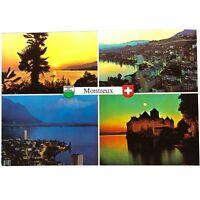Vintage Postcard of Montreux, Switzerland