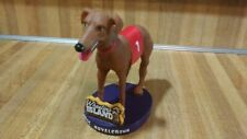 Wheeling Island Racetrack And Gaming Center Greyhound Bobblehead,rare,vg!