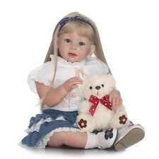 28 Inch Realistic Handmade Arianna Baby Reborn Dolls Toddler Kids Friend Toy Hot